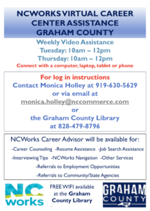 Cover photo for NCWorks for Graham County Residents